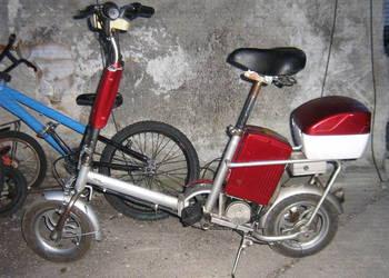 Rower elektryczny.