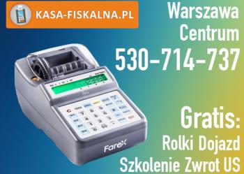 Kasa fiskalna Farex Perła Warszawa Centrum
