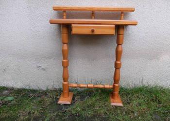 Drewniana konsolka półka przyścienna 373