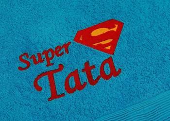 SUPER PREZENT ręcznik z dedykacją haft komputerowy