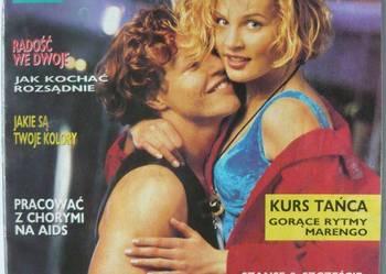 DZIEWCZYNA 1992 NR 3 MARZEC + PLAKAT PARA KONIE
