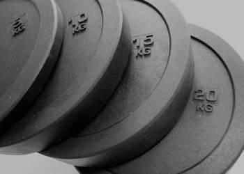 Zestaw obciążeń gumowych 100kg wysoka jakość