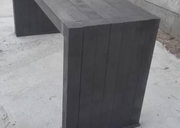 stół z eko tworzywa, do ogrodu, parku, baru..
