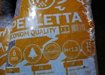 pellet drzewny Jakość ENplus,880 brutto z dostawą worki 15kg