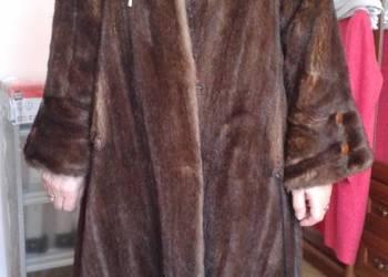 Futro sztuczne norki roz. 44 płaszcz