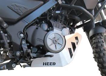 Osłona silnika HEED do BMW G 650 GS Sertao-aluminiowa surowa