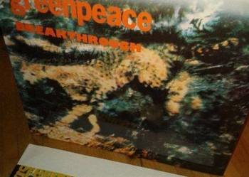 Greenpeace - Breakthrough , Мелодия – A60 00439 008,2lp,89