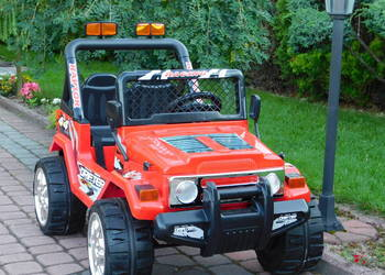 POJAZD AUTO - JEEP RAPTOR DRIFTER na kołach EVA 2x czerwony