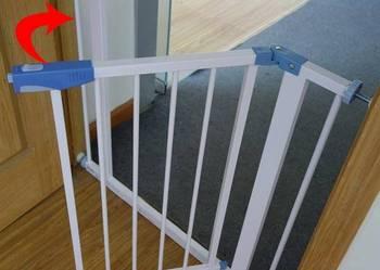 Bramka zabezpieczająca schody drzwi dla dzieci Warszawa na sprzedaż  Warszawa