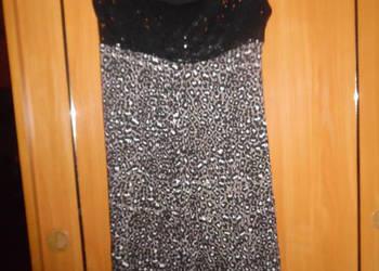 elegancka, wieczorowa sukienka