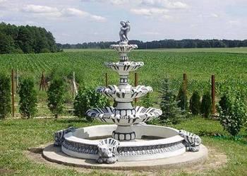 PROMOCJA 10%TANIEJ Piękna fontanna ogrodowa pompa gratis