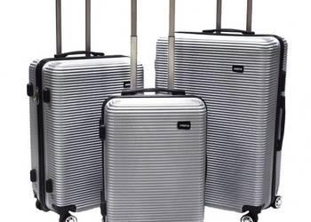 Zestaw walizek podróżnych na kółkach ŚWIĄTECZNA PROMOCJA !!!