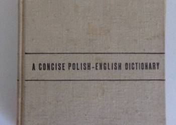 A CONCISE POLISH-ENGLISH DICTIONARY