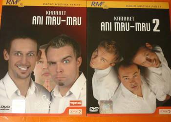 2 płyty DVD Kabaret Ani Mru-Mru vol. 1 i 2