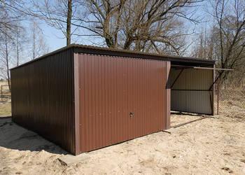 Garaże Blaszane 6x5 blaszaki RAL Dolnośląskie montaż gratis