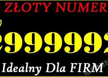 Zloty numerVIP Tpsa TP  22 8499999 VIP W-wa 32 2999992 Śląsk