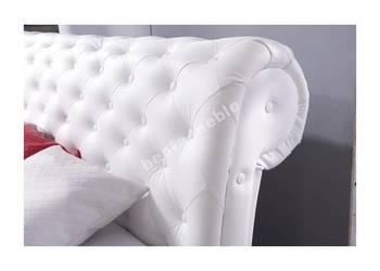 Eleganckie  stylowe łózko 140x200 z materacem