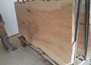 Blaty drewniane monolit loft live edge Wood dąb jesion