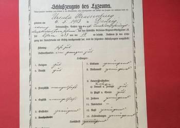 ( 580 ) Dokument niemiecki