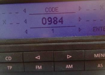 Radio Code / Kod do radia Olsztyn