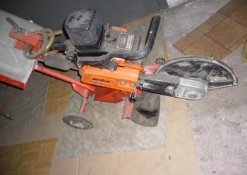 Sprzedam przecinarkę jezdną do asfaltu i betonu Weber SM46