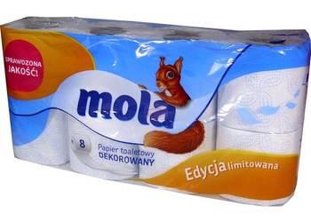 Papier Toaletowy MOLA biały