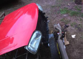 Golf III komp. czerwony przód maska pas przedni lampy chłodn