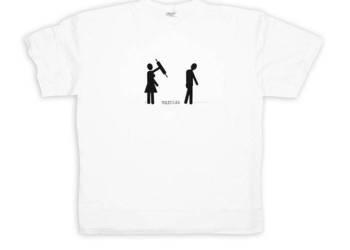 prezent na panieński,śmieszna koszulka rozmiar M, ślub preze