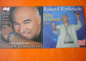 """2 płyty CD Ryszard Rynkowski: """"The best of"""" i Złote przeboje"""