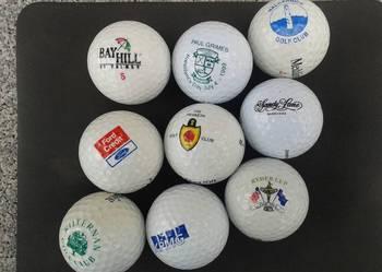 Piłki golfowe dla kolekcjonera Zestaw 9 szt.