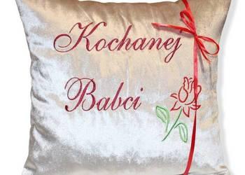 PODUSZKA dla BABCI Prezent na DZIEŃ BABCI Święta itp. Weluro