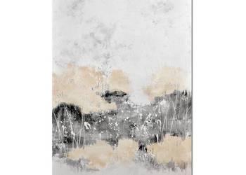 Aputi, abstrakcja, nowoczesny obraz ręcznie malowany