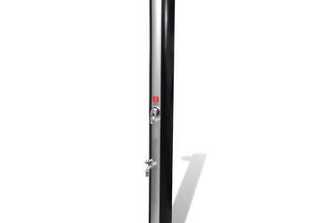 Solarny prysznic zewnętrzny z kranem i słuchawką 35 L 90501