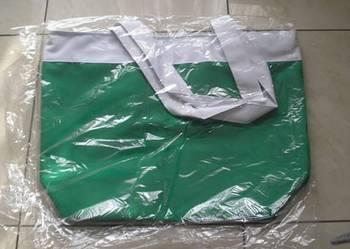 Nowa pojemna torba w kolorze zielonym