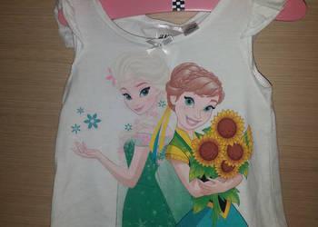 Nowy komplet H&M Kraina Lodu, Elsa Frozen 98/104 z metkami