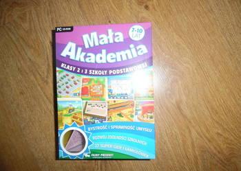 gra edukacyjna na PC ,, Mała Akademia''