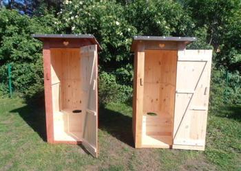 Wc Toaleta Szalet Wychodek Kibel Drewniany Swojak Budowe