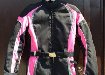 Strój motocyklowy damski, kurtka spodnie