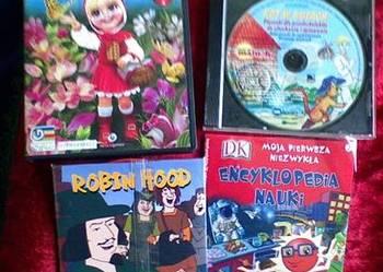 Bajkowe gry edukacyjne na komputer dla dzieci