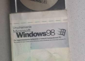 Microsoft WINDOWS 98 - Oryginał! CD + instrukcja z certyfika