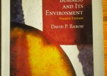 Business and Its Environment (Baron) - po angielsku