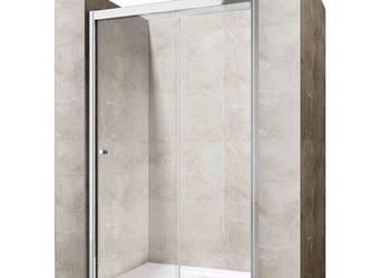Wnękowe Drzwi Prysznicowe Przesuwne 90 100 110 120 130 140