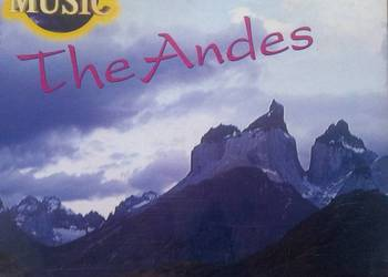 The Andes MUSIC World. Płyta CD.