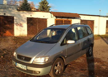 Opel Zafira 2002 2,0DTI 7osobowy hak