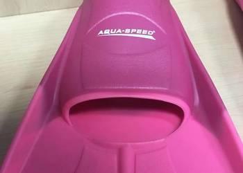 Różowe  Płetwy treningowe  dla dziecka Rozmiar  31-32  33-34