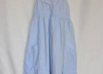 Sukienka na ramiączkach roz. 116cm (5-6lat)
