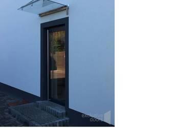 Nowoczesne drzwi przeszklone do biura, lokalu, sklepu