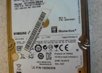 100% sprawny, szybki dysk 1TB do laptopa SATA 2,5cala 1000GB