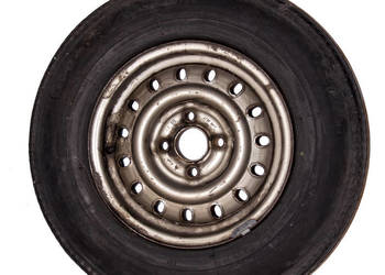 Koło felga stalowa opona Futura 5.90-13 4 PR Fiat 126P Maluc