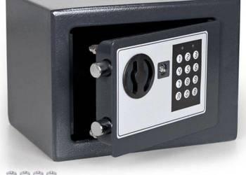 SEJF elektroniczny SZARY kasetka